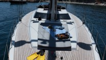 Sailing yacht SHOOTING STAR -  Deck