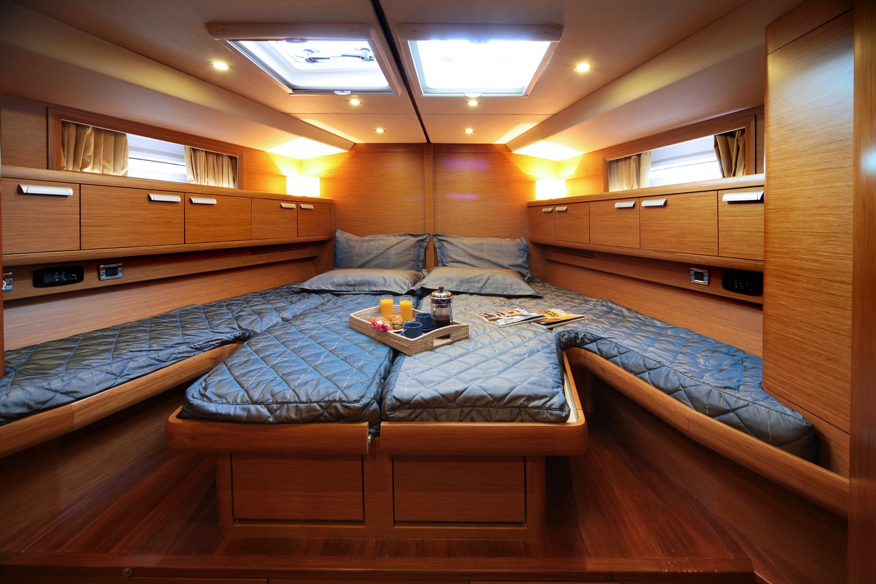 Sailing yacht shooting star double cabin luxury yacht for By the cabin catamaran charters