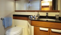 Sailing yacht SHOOTING STAR -  Guest Bathroom