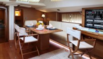 Sailing yacht SHOOTING STAR -  Salon Dining