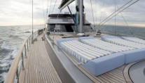 Sailing yacht SILVER K -  Foredeck