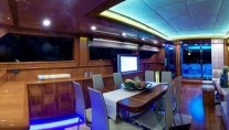 Sailing yacht SILVER K -  Formal Dining