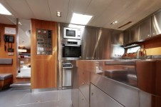 Sailing yacht SILVERTIP- Galley