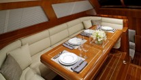 Sailing yacht SYMMETRY - Dining