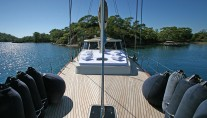 Sailing yacht TANGO CHARLIE - Foredeck