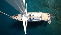 Sailing yacht TANGO CHARLIE - From Above