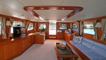 Sailing yacht TANGO CHARLIE - Salon looking aft