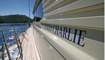 Sailing yacht TANGO CHARLIE - Side Deck