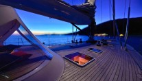 Sailing yacht TESS - Forepeak at Night