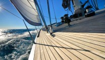 Sailing yacht TESS - On Deck