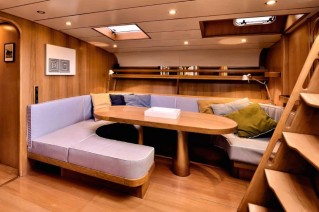 Sailing yacht TESS - Salon