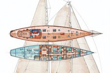Sailing yacht THIS IS US - Layout