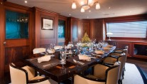 Sailing yacht TIARA -  Formal Dining