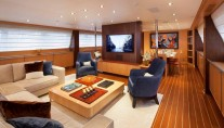 Sailing yacht VICTORIA -  Main Salon