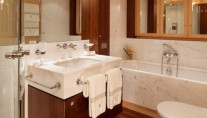 Sailing yacht VICTORIA -  Master Bathroom
