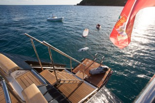 Sailing yacht VICTORIA -  Swim Platform and Toys