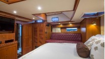 Sailing yacht VOO DOO -  Master Cabin View 2