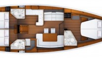 Sailing yacht ZUMA - Layout