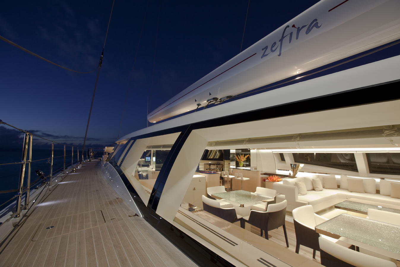 Sailing Yacht Zefira Looking In 2