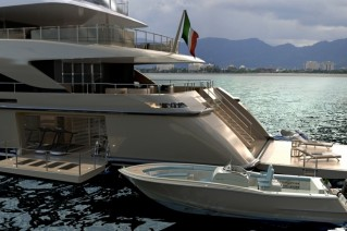 Sanlorenzo 60 STEEL superyacht and tender