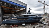 Sanlorenzo launched the third 460EXP motor yacht Ocean's Four
