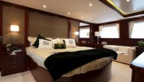 Santa Domenica Yacht - Stateroom with interior accessories and linen by Fendi