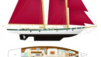 Schooner Dallinghoo - Layout