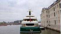 Sea Owl Yacht in Amsterdam - Aft View