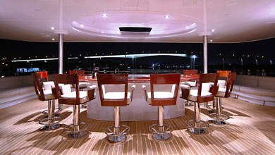 Seafaris - Open Aft Teppanyaki Bar