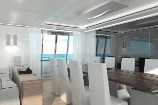 Second Canados 120 Yacht - Dining