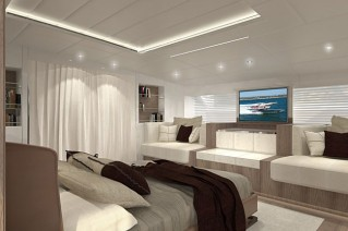 Second Canados 120 Yacht - Owners Stateroom