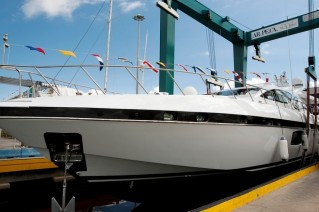 Second Mangusta 94 Yacht Photo by Emilio Bianchi for Overmarine Group