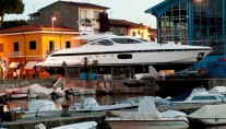 Second superyacht Mangusta 94 Photo by Emilio Bianchi for Overmarine Group