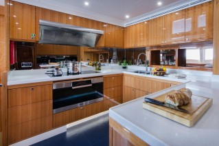 Sehamia superyacht - galley