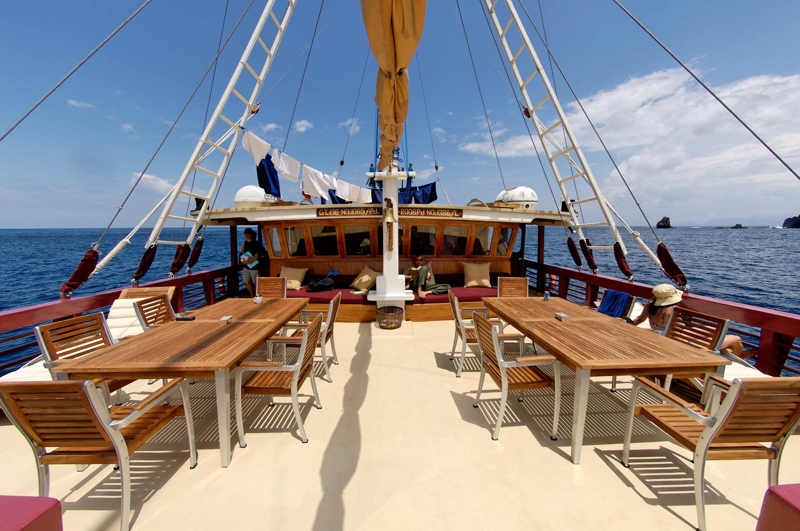 seven seas yacht charter details luxury indonesian