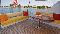 Sheer Bliss  Aft Deck