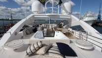 Sistership to SUN LOVER superyacht - a Sunseeker 40M yacht