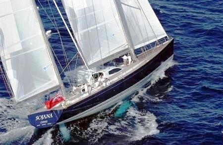 Sailing Yacht 'Sojana'