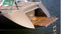 Southern Wind SW 100 DS - Transom and Swiming Platform