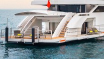 Spacious Beach Club aboard GENESI
