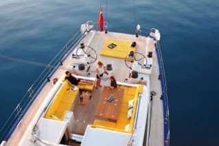 Spiip -  Aft Deck Evening