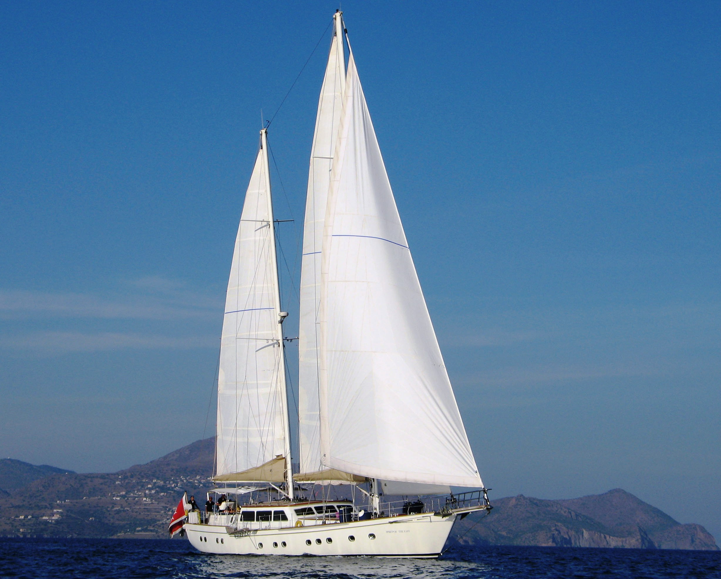 spirit of the east yacht charter details  aegean yacht services