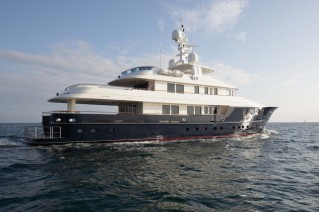 Star superyacht - side view