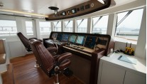 Star superyacht Wheelhouse