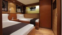 State of Grace superyacht - Twin cabin