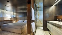 Stateroom on the SL 100 New superyacht