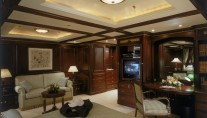 Suite on board Benetti Yacht REVERIE