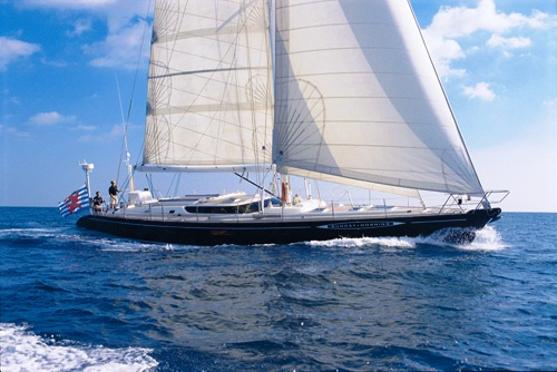Sailing Yacht�Sunday Morning