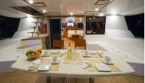 Sunreef 62 BLAZE II  -  Aft Deck Al Fresco Dining