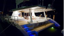 Sunreef 62 BLAZE II  -  At Deck at Night